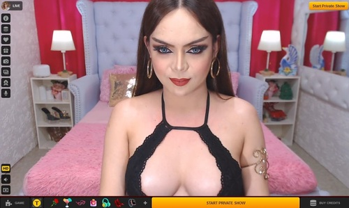 Use LiveJasmin's filter to find your self-sucking Transgirl in HD