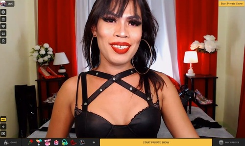 MyTrannyCams has an excellent filter to help you find your self-sucking tranny